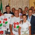 Presentazione della manifestazione di Napoli Pizza Village 2011