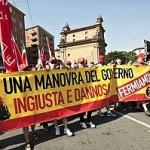MANOVRA E' INIQUA, PUO' ALIMENTARE TENSIONI SOCIALI