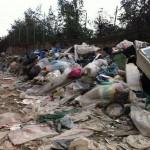 Ripulita dopo 10 anni Traversa Cupa Cimitero a Barra