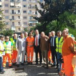 Diserbo e pulizia: Viale Augusto e Piazza San Vitale – Fuorigrotta