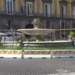 Restauro della Fontana del Carciofo a Piazza Trieste e Trento