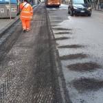 Inizia il rifacimento del manto stradale di via dell'Epomeo