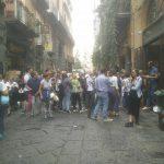 Settembre, fine estate, Napoli invasa da turisti, abbiamo trasformato la città