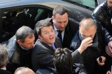 Renzi contestato