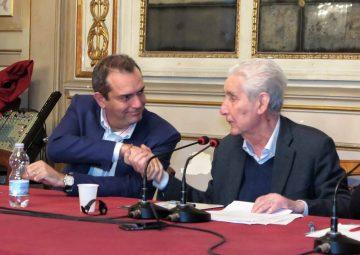 Luigi de Magistris con Stefano Rodotà