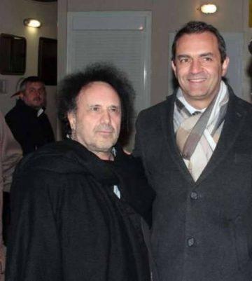 Enzo Avitabile con Luigi de Magistris