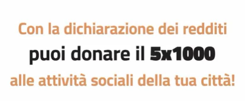 Puoi donare il tuo 5x1000 alla città di #Napoli, un dono d'amore